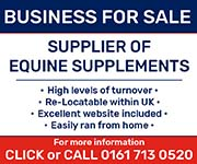 Business For Sale (Leicestershire Horse)